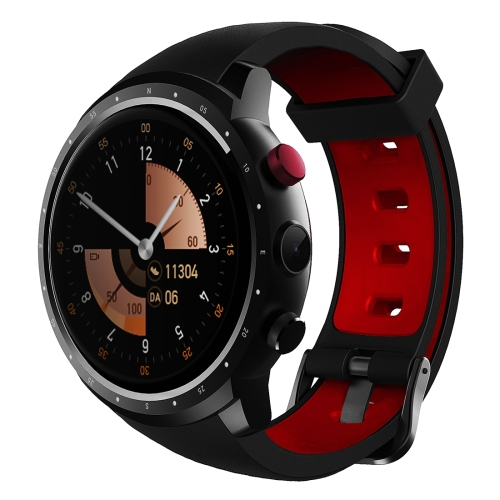 Buy Z18 1.3 inch TFT Round Screen Display Bluetooth Smart Watch Phone, IP54 Waterproof, Support 3G Network / Heart Rate Monitor / SIM Card / GPS Navigation, Compatible with Android and iOS Phones, Black for $94.28 in SUNSKY store