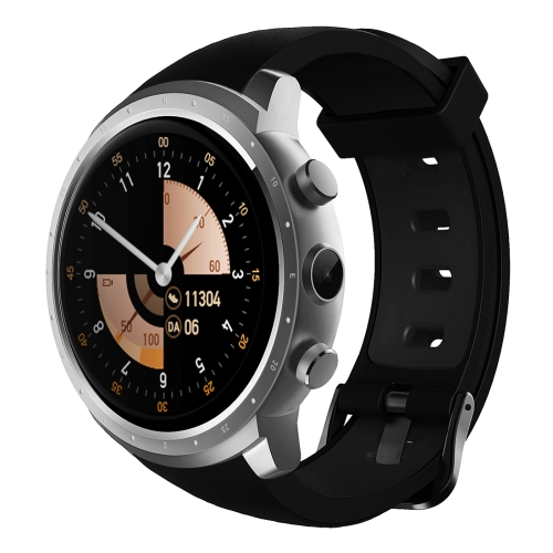 Buy Z18 1.3 inch TFT Round Screen Display Bluetooth Smart Watch Phone, IP54 Waterproof, Support 3G Network / Heart Rate Monitor / SIM Card / GPS Navigation, Compatible with Android and iOS Phones, Silver for $94.28 in SUNSKY store