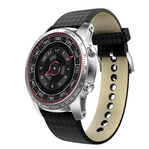 Buy KW99 1.39 inch AMOLED Screen Display Bluetooth Smart Watch, Support Pedometer / Real-time Heart Rate Monitor / Information Pushing / GPS Navigation, Compatible with Android and iOS Phones, Silver for $111.46 in SUNSKY store