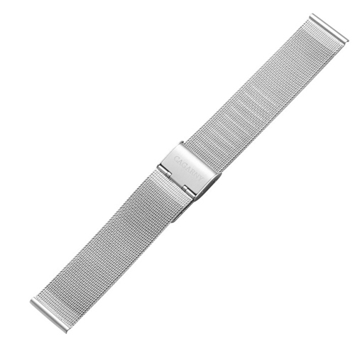 Buy CAGARNY Simple Fashion Watches Band Metal Watch Strap, Width: 18mm, Silver for $4.47 in SUNSKY store