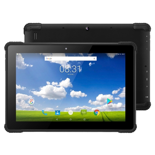 PiPo N1 4G Tablet, 10.1 inch, 2GB+32GB, IP54 Waterproof Dustproof Shockproof, Android 7.0 MTK8735 Cotex A53 1.3GHz Quad Core, Support WiFi & Bluetooth & GPS & TF Card & Micro HDMI(Black)