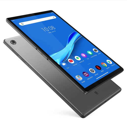 Lenovo Tab M10 Plus TB-X606F, 10.3 inch, 4GB+64GB, Android 9 Pie MediaTek P22T Octa-core up to 2.3GHz, Support Dual Band WiFi & BT & Micro SD Card (Grey) фото