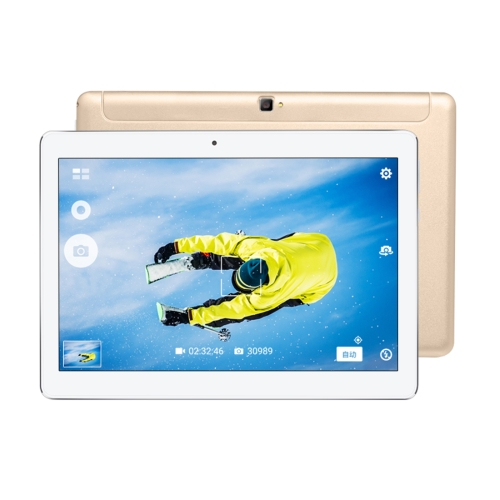VOYO Q101 4G Call Tablet, 10.1 inch, 2GB+32GB, Android 6.0 MT6753 Octa Core 1.5GHz, Network: 4G, Support OTG & GPS & Dual SIM & Bluetooth & WiFi(Gold) original 10 1 tablets android octa core 32 64gb rom dual camera dual sim tablet pc 1920x1200 wifi otg gps bluetooth phone