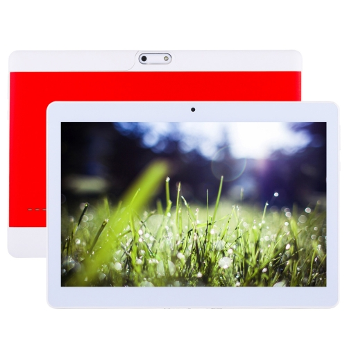 3G Call Tablet, 10.1 inch, 2GB+32GB, Android 6.0 MT6580 Quad Core 1.3GHz, Support OTG & GPS & FM & Bluetooth & WiFi & Dual SIM(Red)