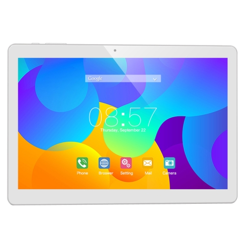 Cube T10 Tablet PC, 2GB+32GB, 4G Phone Call, 10.1 inch Android 6.0 MTK8783 Octa Core up to 1.3GHz, OTG, WiFi, BT, FM, GPS(White)