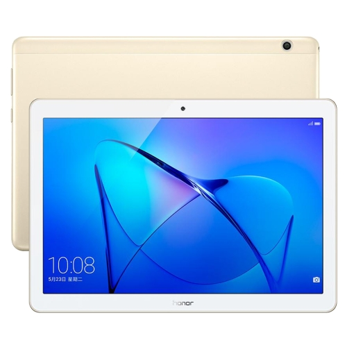 Huawei MediaPad T3 10 AGS-L09, 9.6 inch, 3GB+32GB, Official Global ROM, EMUI 5.1 (Based on Android 7.0), Qualcomm SnapDragon 425 Quad Core, Dual Band WiFi, 4G(Gold)