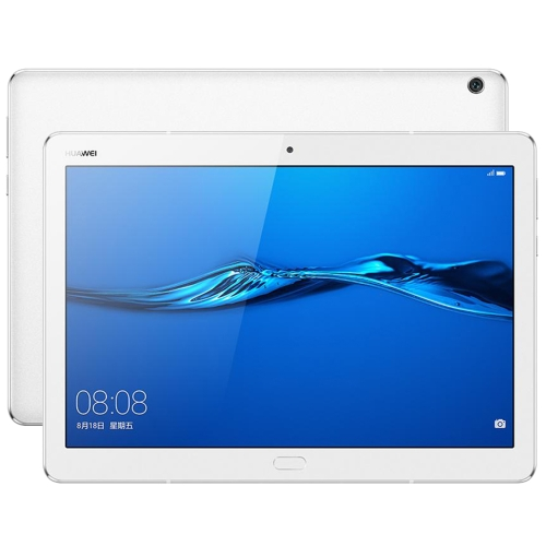 Huawei MediaPad M3 Lite 10 BAH-AL00, 10.1 inch, 3GB+32GB, Official Global ROM, Fingerprint Identification & Navigation, EMUI 5.1 (Based on Android 7.0), Qualcomm SnapDragon 435 Octa Core, Dual Band WiFi, 4G(White) folio stand pu leather cover case for 2017 10 1 huawei mediapad m3 lite 10 bah w09 bah al00 10 tablet free gift