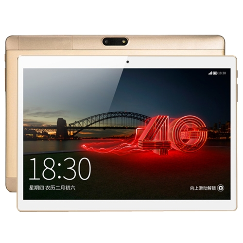 ONDA V10 4G Calling Tablet, 10.1 inch, 2GB+32GB, Not Support Google Play, CE / FCC / ROHS / WEEE Certificated, Dual SIM, Dual Camera, ONDA ROM 2.0 (Based on Android 7.0 OS), MTK6753 Octa Core 1.3GHz, Support 128GB Micro SD / TF Card, WiFi, Bluetooth 4.0,