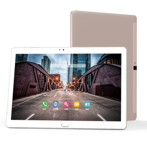 Cube Free Young X7 T10 Plus 4G Call Tablet, 3GB+32GB, 10.1 inch, Android 6.0 MTK MT8783V-CT Octa Core 1.5GHz, Support OTG & GPS & FM & Bluetooth & WiFi (White + Gold) junsun 7 inch hd car gps navigation with fm bluetooth avin multi languages europe sat nav truck car gps navigator with free maps