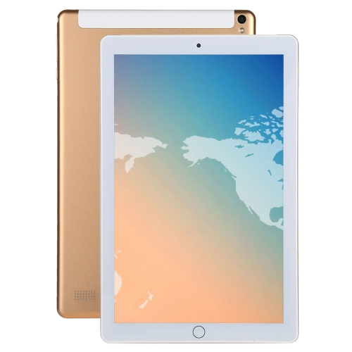 4G Phone Call Tablet PC, 10.1 inch, 2GB+32GB, Android 7.0 MTK6753 Octa Core 1.3GHz, Dual SIM, Support GPS(Gold) new free 10 1 inch tablet pc octa core 4gb ram 64gb rom phone dual sim cards 3g wcdma android 7 0 gps tablets 10 10 1 gifts