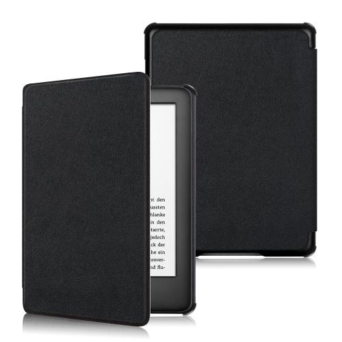 Horizontal Flip Leather Case for Amazon Kindle 2019, with Holder & Sleep / Wake-up Function (Black)