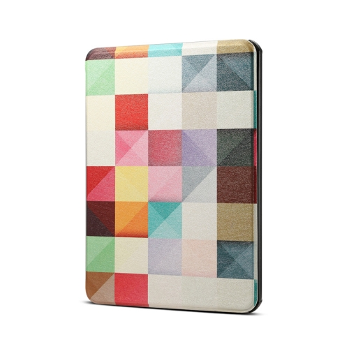 Colors Magic Cube Pattern Horizontal Flip PU Leather Protective Case for Amazon Kindle 2019, with Sleep & Wake-up Funtion