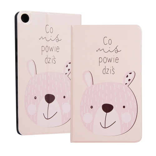 Rabbit Pattern Universal Spring Texture TPU Protective Case for Huawei Honor Tab 5 8 inch / Mediapad M5 Lite 8 inch, with Holder