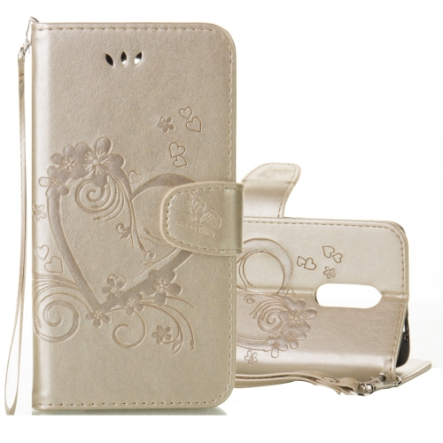 Buy Xiaomi Redmi Note 3 Pressed Flowers Butterfly Love Pattern Horizontal Flip Leather Case with Holder & Card Slots & Wallet & Lanyard & Photo Frame, Gold for $2.69 in SUNSKY store