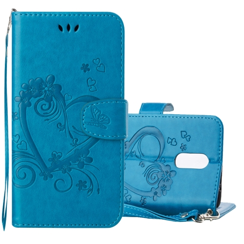 Buy Xiaomi Redmi Note 3 Pressed Flowers Butterfly Love Pattern Horizontal Flip Leather Case with Holder & Card Slots & Wallet & Lanyard & Photo Frame, Blue for $2.69 in SUNSKY store