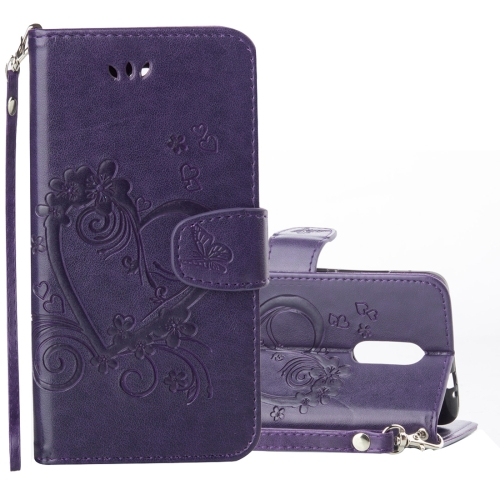 Buy Xiaomi Redmi Note 3 Pressed Flowers Butterfly Love Pattern Horizontal Flip Leather Case with Holder & Card Slots & Wallet & Lanyard & Photo Frame, Purple for $2.69 in SUNSKY store