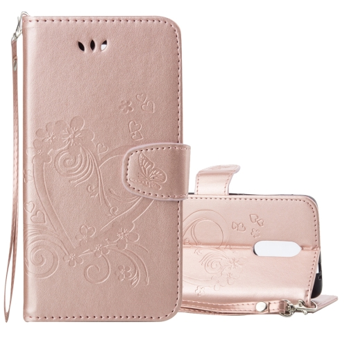 Buy Xiaomi Redmi Note 3 Pressed Flowers Butterfly Love Pattern Horizontal Flip Leather Case with Holder & Card Slots & Wallet & Lanyard & Photo Frame (Rose Gold) for $2.69 in SUNSKY store