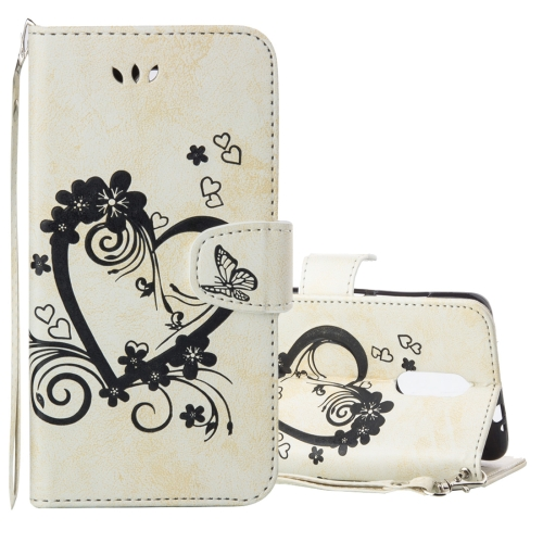 Buy Xiaomi Redmi Note 3 Pressed Flowers Butterfly Love Pattern Horizontal Flip Leather Case with Holder & Card Slots & Wallet & Lanyard & Photo Frame, Beige for $2.69 in SUNSKY store