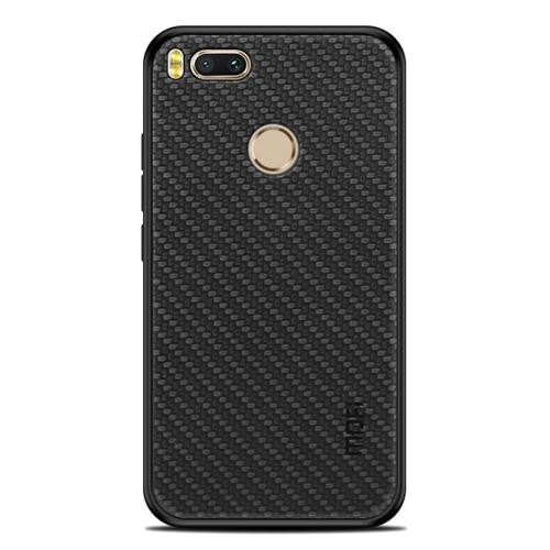 MOFI Cloth Surface + PC + TPU Protective Back Case for Xiaomi Mi 5X / A1(Black) protective pu leather tpu case for xiaomi mi 2 purple black