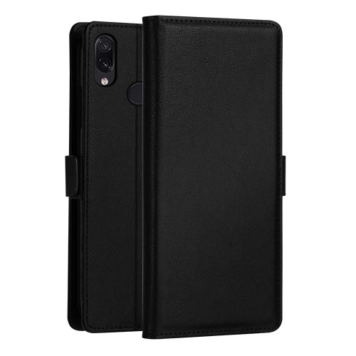 DZGOGO MILO Series PC + PU Horizontal Flip Leather Case for Xiaomi Redmi 7, with Holder & Card Slot & Wallet (Black)