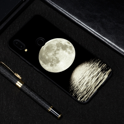 Moon Painted Pattern Soft TPU Case for Xiaomi Redmi Note 7