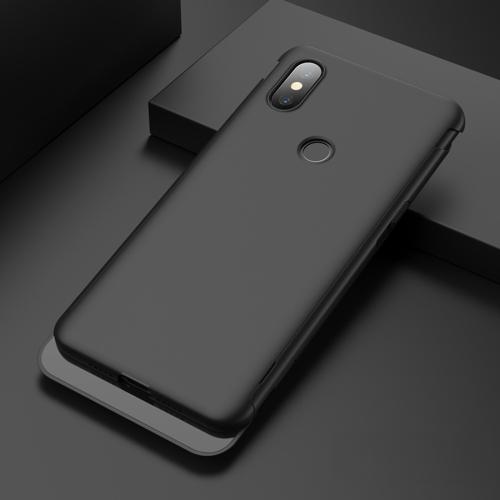 Ultrathin PC Sliding Closure Protective Case for Xiaomi Mi Mix 3(Black)