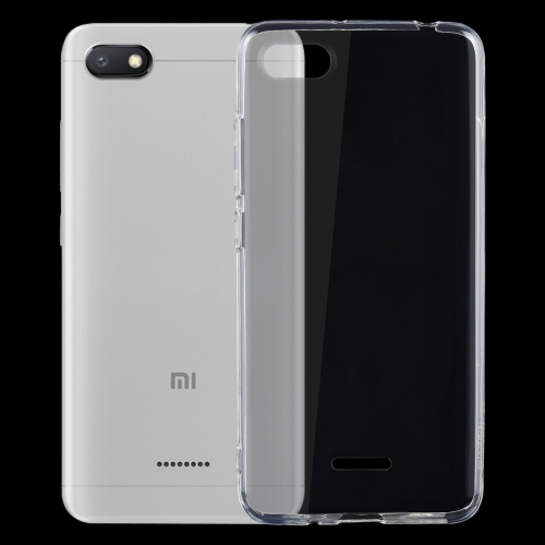 Shockproof TPU Protective Back Case for Xiaomi Redmi 6A (Transparent) tpu shockproof case for xiaomi redmi 6 pro black