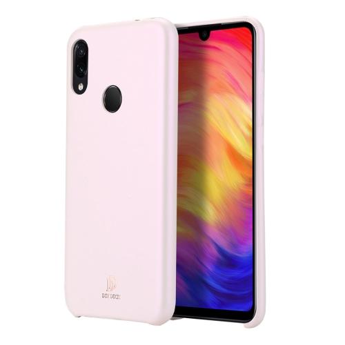 DUX DUCIS Skin Lite Series Ultra-thin Shockproof PU Case for Xiaomi Redmi Note 7 (Pink)