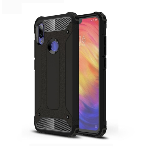 Magic Armor TPU + PC Combination Case for Xiaomi Redmi Note 7 (Black)