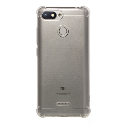 Shockproof TPU Protective Case for Xiaomi Redmi 6 (Transparent)