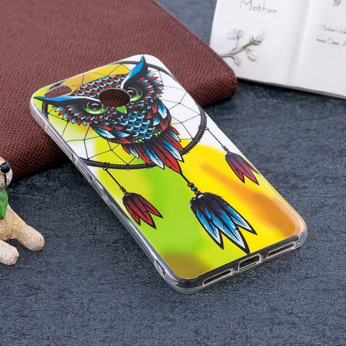 Buy Xiaomi Redmi 4X Noctilucent Windbell Owl Pattern TPU Soft Back Case Protective Cover for $1.40 in SUNSKY store