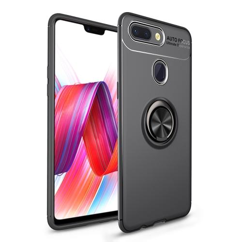Shockproof TPU Case for   Xiaomi Mi 8 Lite, with Holder (Black)