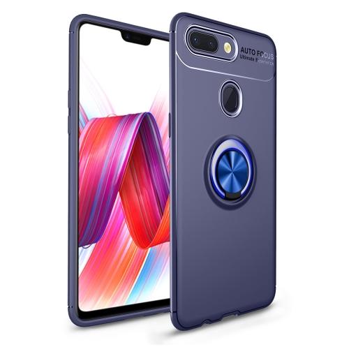 Shockproof TPU Case for   Xiaomi Mi 8 Lite, with Holder (Blue)