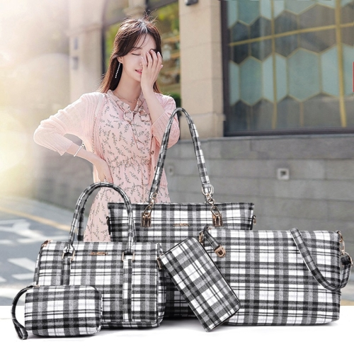 5 in 1 Lattice Pattern Shoulder Bag Ladies Handbag Messenger Bag Traveling bag