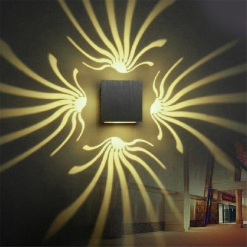 3w Lámpara Aluminio Aplique Decoración Pared Sunsky Ywxlight De QrtshdCxB