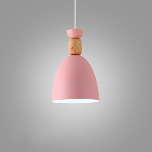YWXLight Simple Dining Room Home Dining Table Bedroom Bedside Creative Chandelier (Pink)