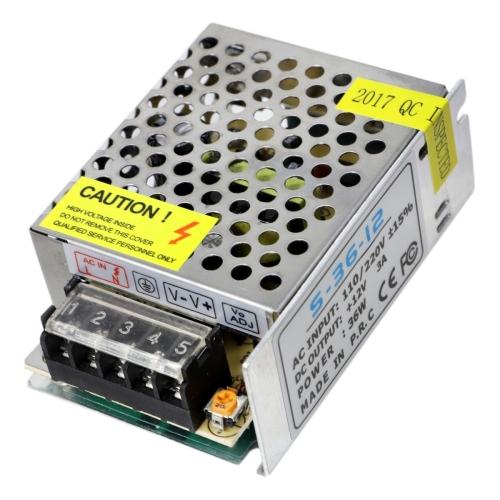 YWXLight LED Switching Power Supply DC 12V 3A 36Watts Regulated Transformer Converter AC 110V-220V to DC 12V for LED Strip etc
