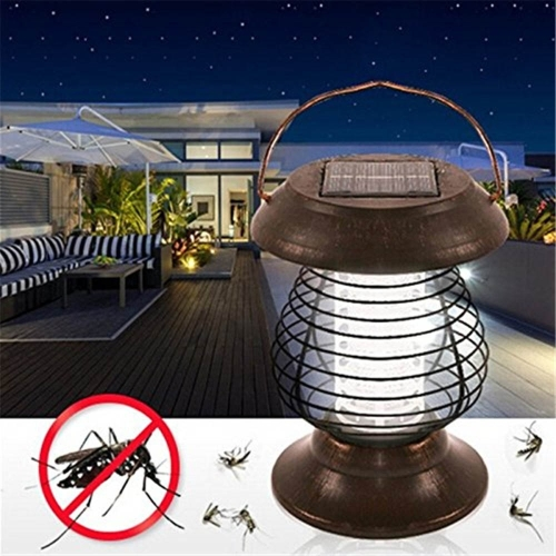 YWXLight Portable Solar UV Bug Repellent Insect Mosquito Killer LED Garden Lights
