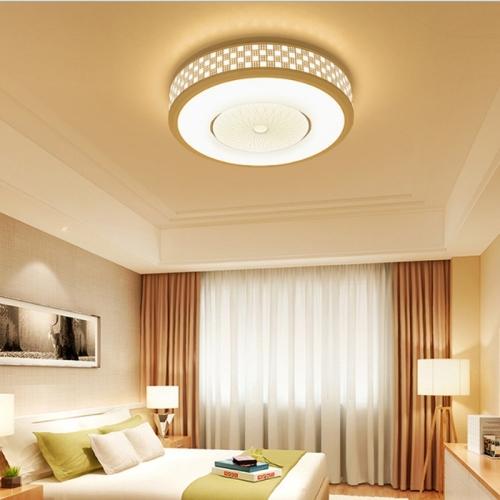 42W Modern Minimalist Round Living Room Lamp Dining Room Bedroom Highlight Chip White Light LED Ceiling Light, Diameter: 62cm