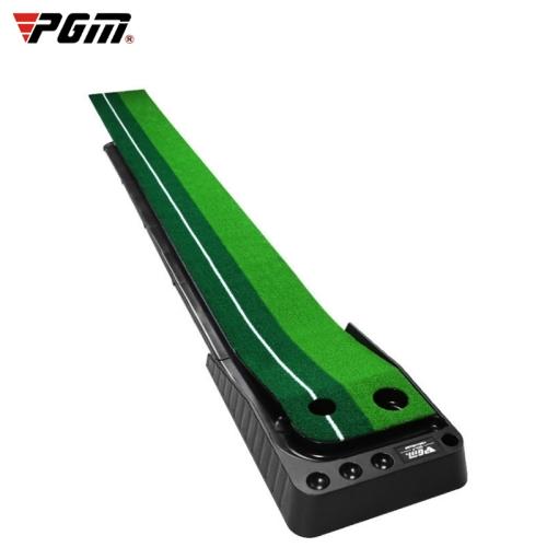 PGM 3m Golf Indoor Swing Grip Putting Trainer Practice Pace with Automatic Return Fairways