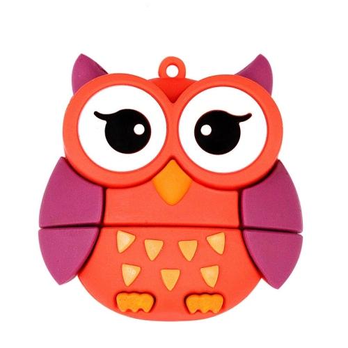 MicroDrive 16GB USB 2.0 Creative Cute Owl U Disk