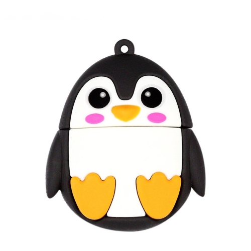 MicroDrive 64GB USB 2.0 Creative Cute Penguin U Disk