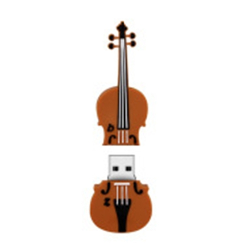 MicroDrive 4GB USB 2.0 Medium Violin U Disk