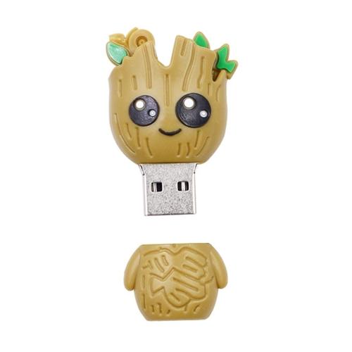 MicroDrive 128GB USB 2.0 Cartoon Tree Woman U Disk
