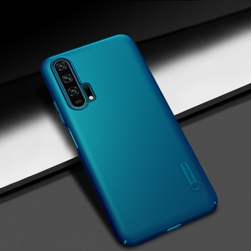 NILLKIN Frosted Shield Concave-convex Texture PC Protective Case Back Cover for Huawei Honor 20 Pro (Blue) фото
