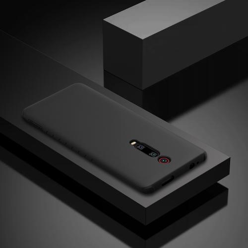NILLKIN Rubber Wrapped TPU Protective Case for Xiaomi Mi 9T & Mi 9T Pro & Redmi K20 & K20 Pro (Black)