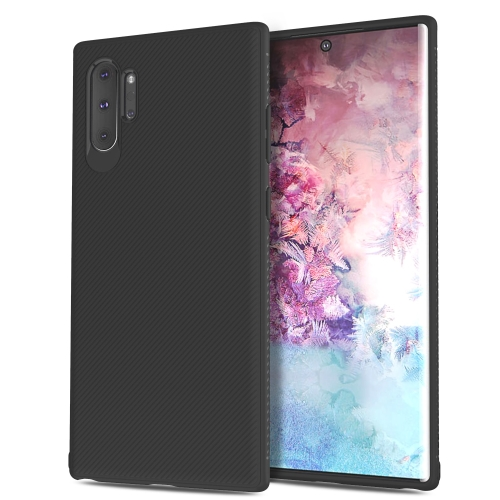 Lenuo Leshen Series Stripe Texture TPU Case for Galaxy Note 10+ / Note 10 Pro (Black) фото