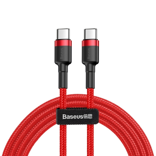 Baseus CATKLF-H09 Cafule Series USB-C / Type-C PD 2.0 60W Flash Charge Cable, Cable Length: 2m