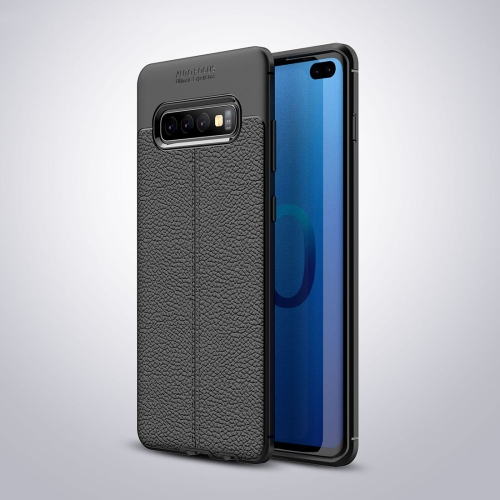 Litchi Texture TPU Shockproof Case for Galaxy S10e