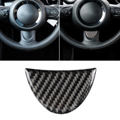R57 R58 R52 F56 Decorative Sticker KANEED Red Blue Color Car Steering Wheel Carbon Fiber Decorative Sticker for BMW Mini R53 R55 R60 R59 F55 R50